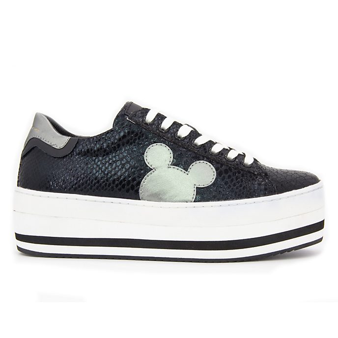 Master of Arts Baskets Mickey Mouse noires pour adultes