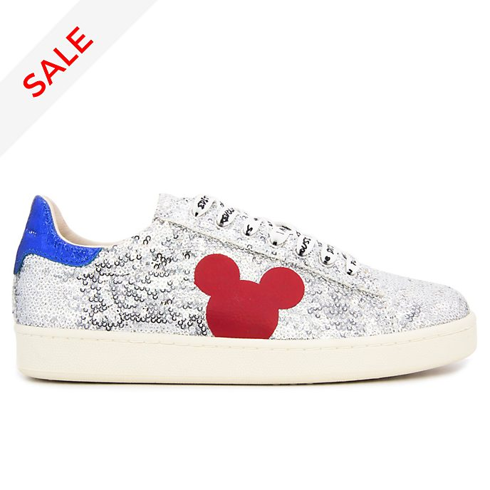 Master of Arts Mickey Mouse Sequin Trainers for Adults