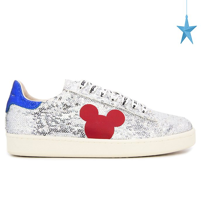 Master of Arts Baskets Mickey Mouse à sequins pour adultes