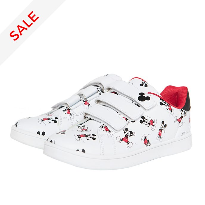 Arnetta Mickey Mouse Trainers For Adults