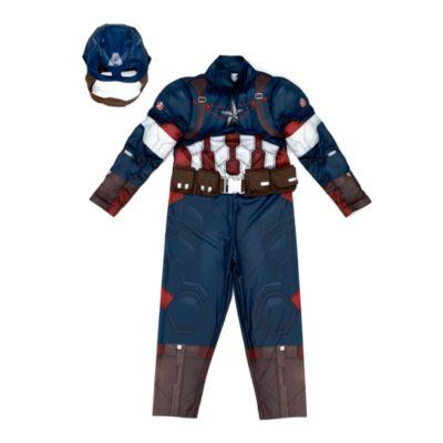 marvel the avengers captain america kost m f r kinder. Black Bedroom Furniture Sets. Home Design Ideas