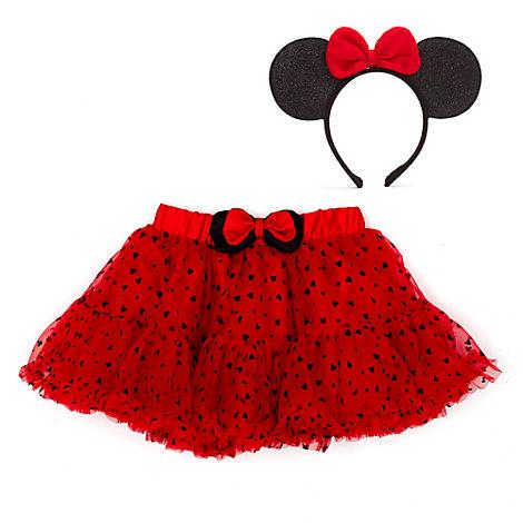 Set infantil de tutú y accesorio de Minnie