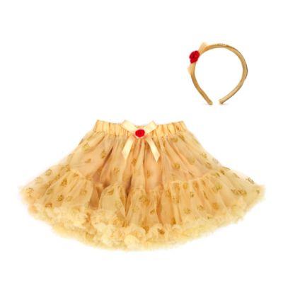 Belle ballerinakjol för barn med tillbehör, Skönheten och Odjuret