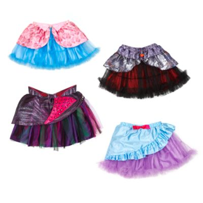 Mal Tutu And Accessory Set for Kids, Disney Descendants