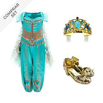 Conjunto disfraz infantil princesa Jasmine, Disney Store