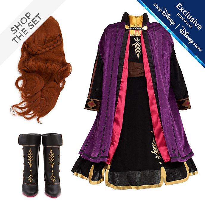 Disney Store Anna Costume Collection For Kids, Frozen 2
