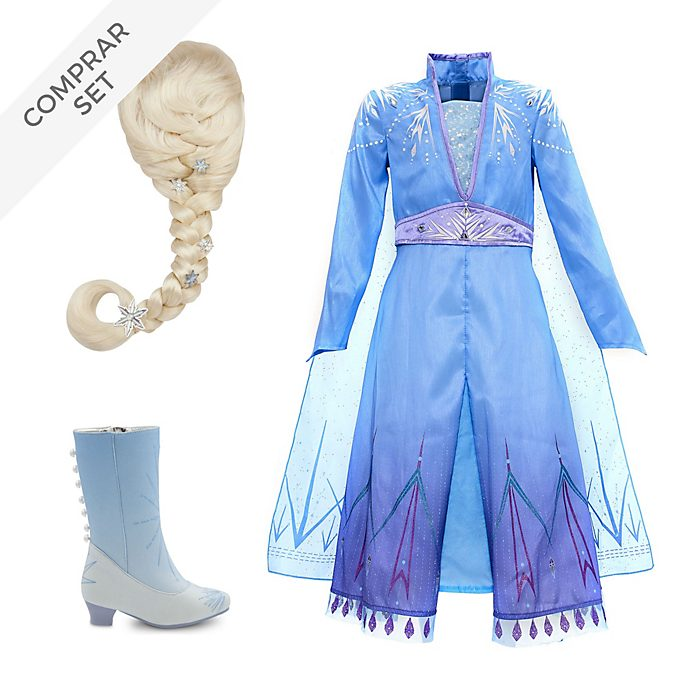 Conjunto disfraz infantil Elsa, Frozen 2, Disney Store