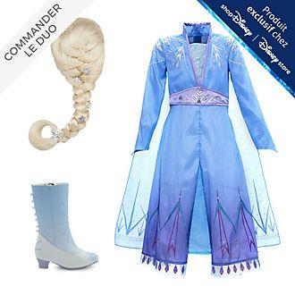 Disney Store Déguisement Elsa pour enfants, La Reine des Neiges2