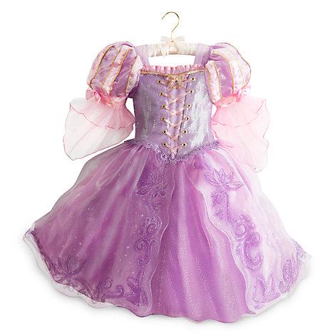 Robe de déguisement de luxe Raiponce pour enfants