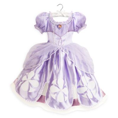 Sofia The First Costume Dress For Kids