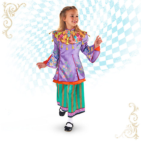 Déguisement de luxe Alice pour enfants, Alice de l'Autre Côté du Miroir