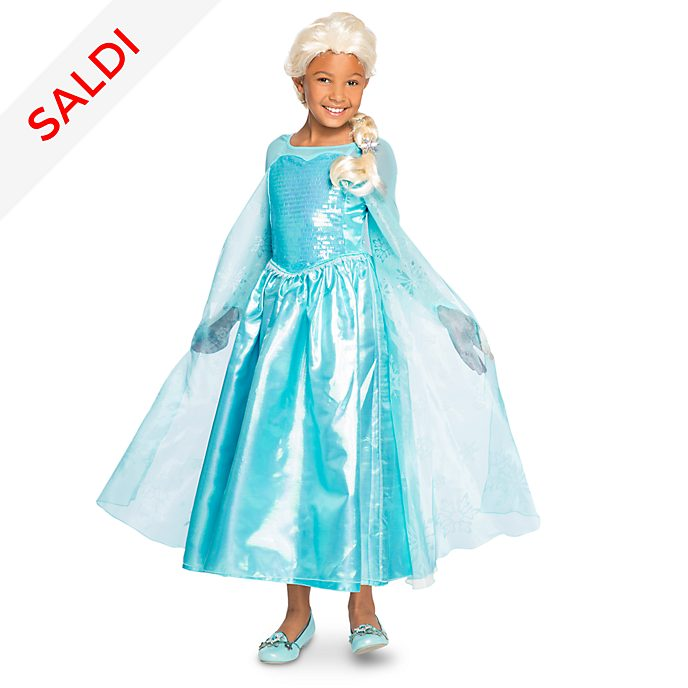 5b0482b3d53a0e Costume di carnevale bimbi Elsa