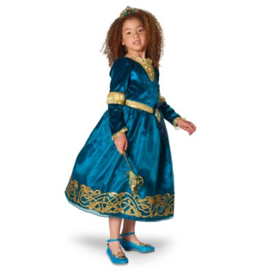 Merida Costume Dress For Kids