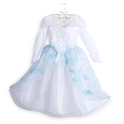 Cinderella 4 Piece Costume Set For Kids