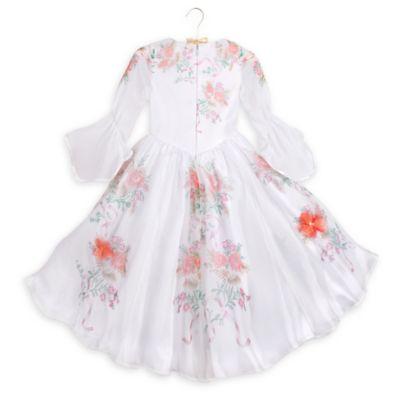 Robe de déguisement blanche Belle pour enfants, La Belle et la Bête