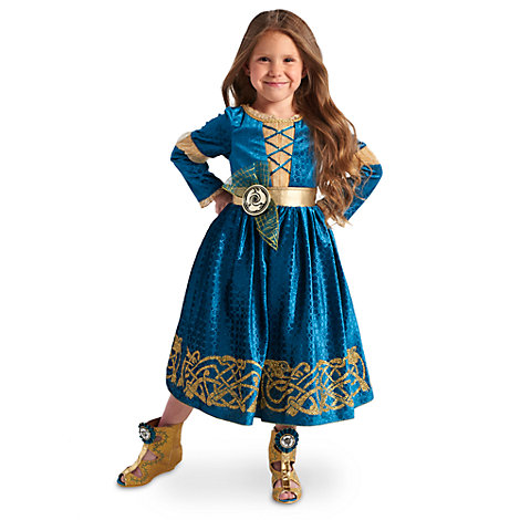 Merida - Legende der Highlands - Merida Kostüm für Kinder
