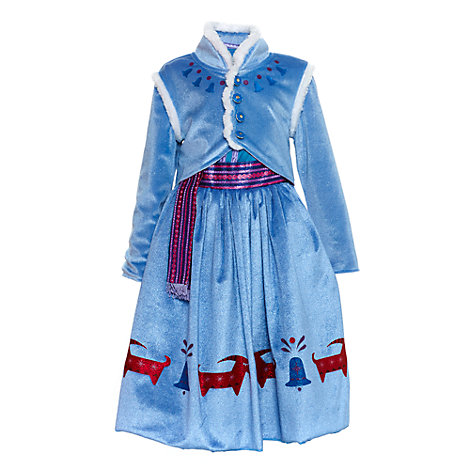 Anna Deluxe Costume Dress For Kids