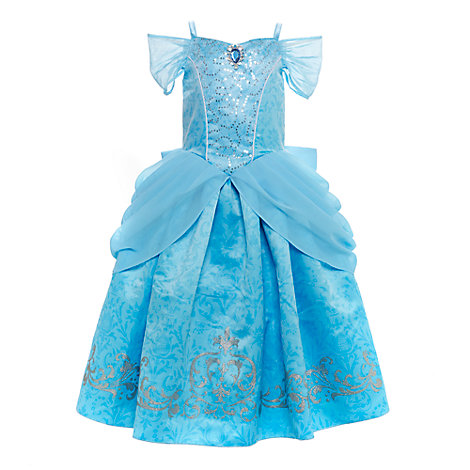 Cinderella Deluxe Costume for Kids
