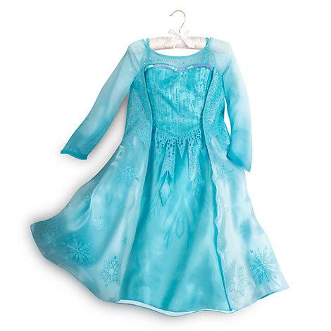 Die Eiskönigin - völlig unverfroren - Elsa Kostümkleid für Kinder