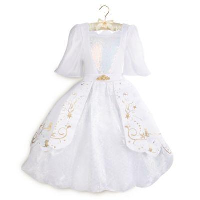 Disfraz infantil del vestido de boda de La Sirenita