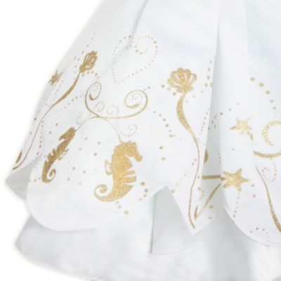The Little Mermaid Wedding Dress Costume For Kids
