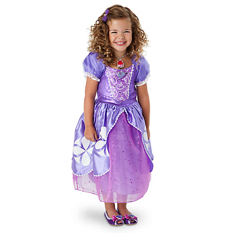 Disfraz infantil de la Princesa Sofía