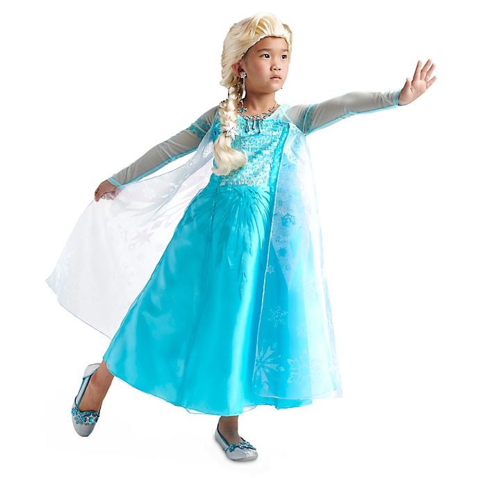 Disney Store Elsa Costume Collection For Kids