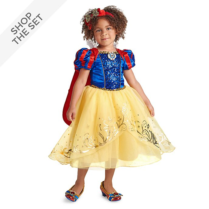 Disney Store Snow White Costume Collection For Kids
