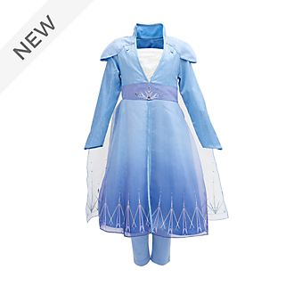 Disney Store Elsa Deluxe Travel Costume For Kids, Frozen 2