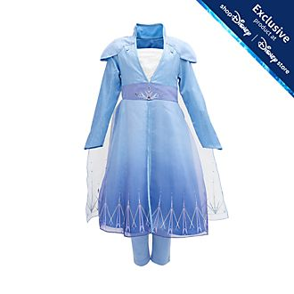 Disney Store Elsa Deluxe Travel Costume For Kids, Frozen 2