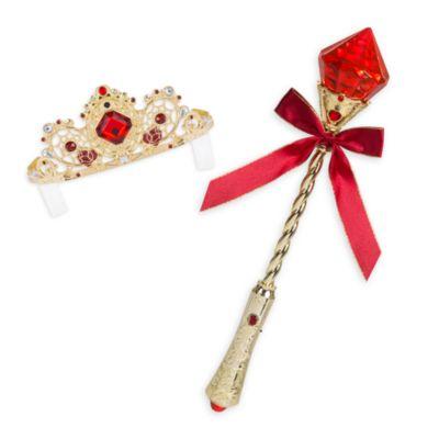 Disfraz infantil de lujo con luces Bella con accesorios