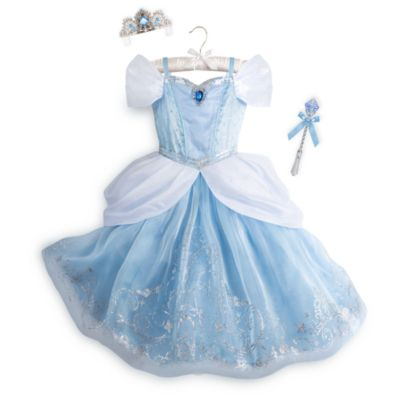 Cinderella Deluxe Light-Up Costume With Accessories For Kids