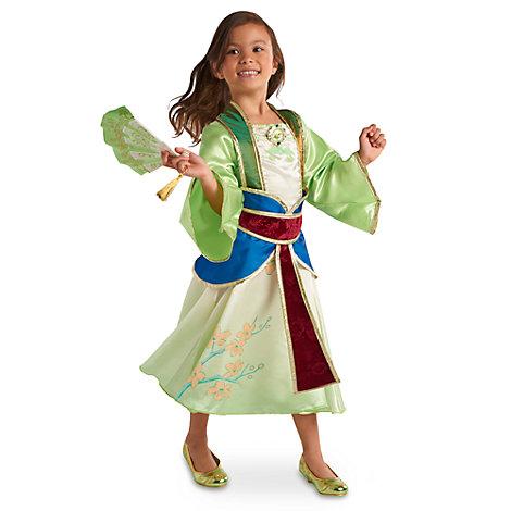 Mulan kostume til børn