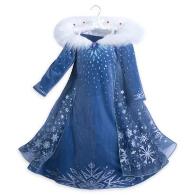 Elsa Deluxe Costume Dress For Kids