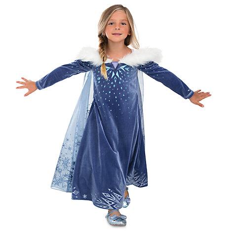 Elsa Deluxe Costume Dress For Kids