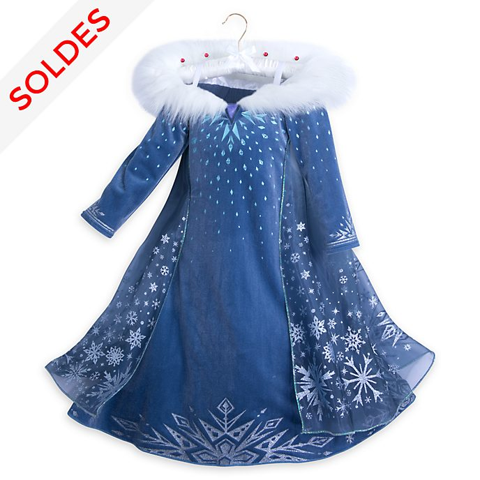 Robe de déguisement de luxe pour enfants Elsa