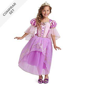 Conjunto disfraz infantil Rapunzel, Disney Store