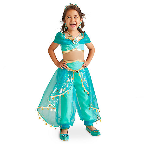 Princess Jasmine Costume For Kids, Aladdin