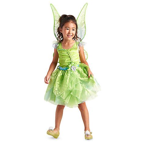Klokkeblomst kostume, der lyser i mørke – til børn