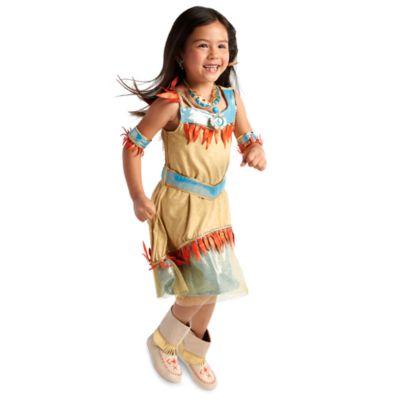Disfraz infantil de Pocahontas