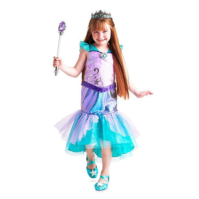 The Little Mermaid Costume Dress For Kids