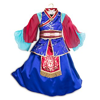 Disney Store Art of Mulan Costume For Kids