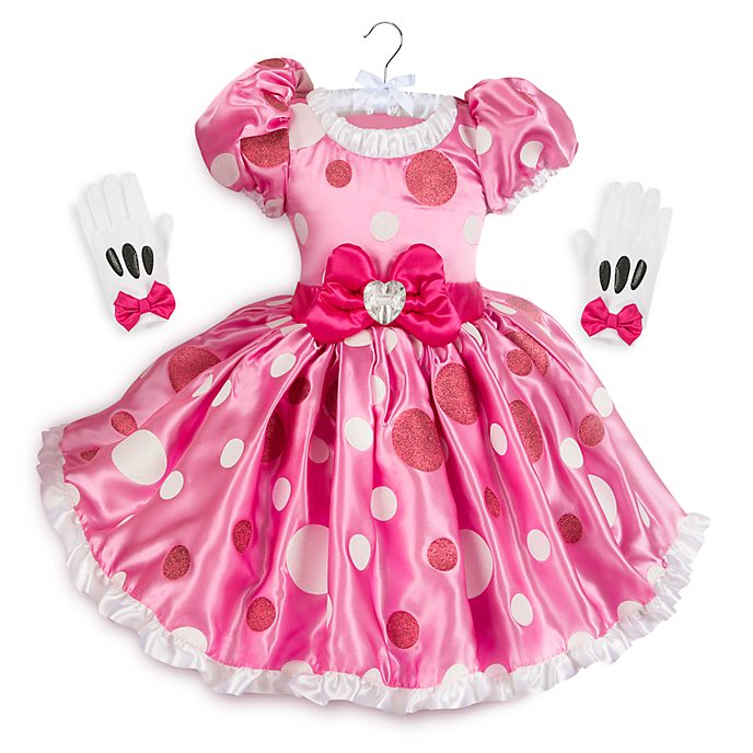 adc3d3090 Disfraz infantil rosa Minnie Mouse