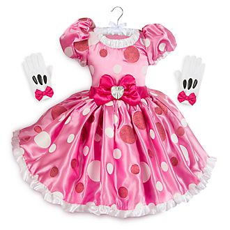 80555370027 Disney Store Minnie Mouse Pink Costume For Kids