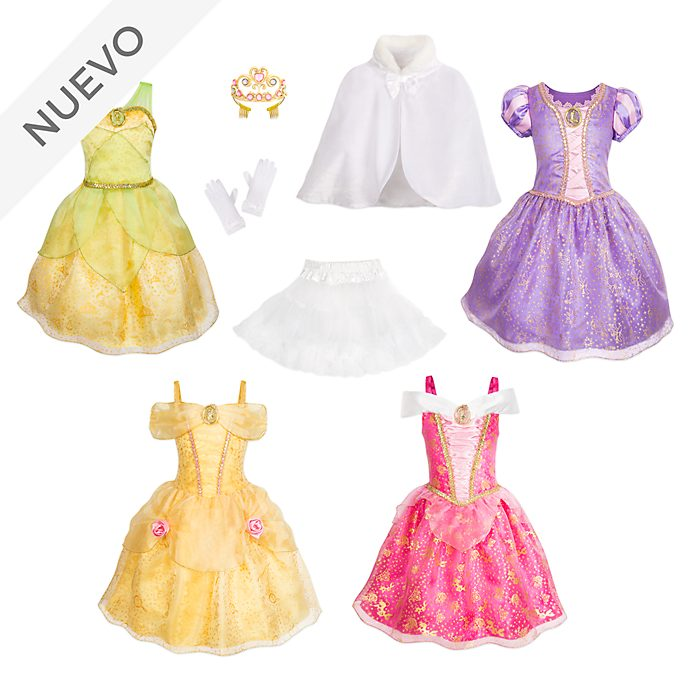 Conjunto disfraces 8piezas princesas Disney, Disney Store
