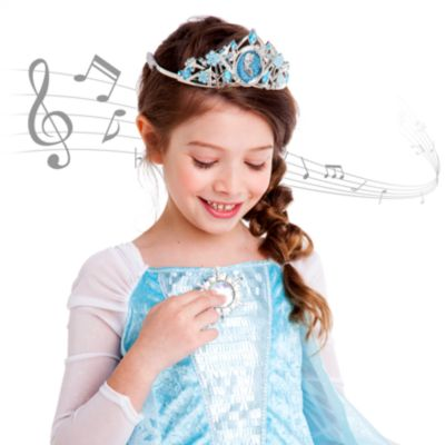 Frozen Elsa Singing Costume Dress For Kids