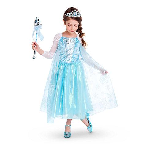 Die Eiskönigin - völlig unverfroren - Elsa Kostüm mit Melodie für Kinder