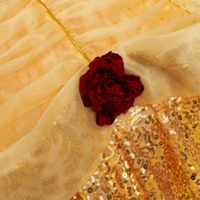 Costume deluxe bimbi Belle in edizione limitata con crinolina