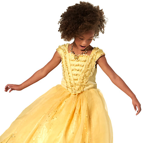 robe de d guisement de luxe belle pour enfants en dition limit e la belle et la b te. Black Bedroom Furniture Sets. Home Design Ideas