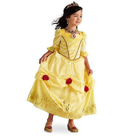 Belle Costume For Kids, Beauty And The Beast